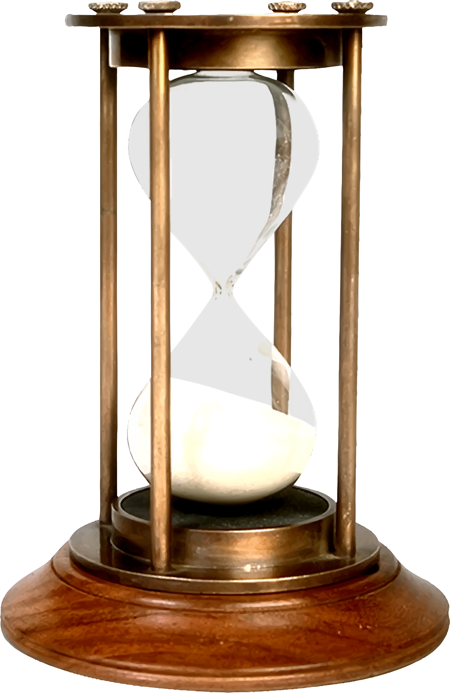 Hourglass clipart hour glass. Big image png