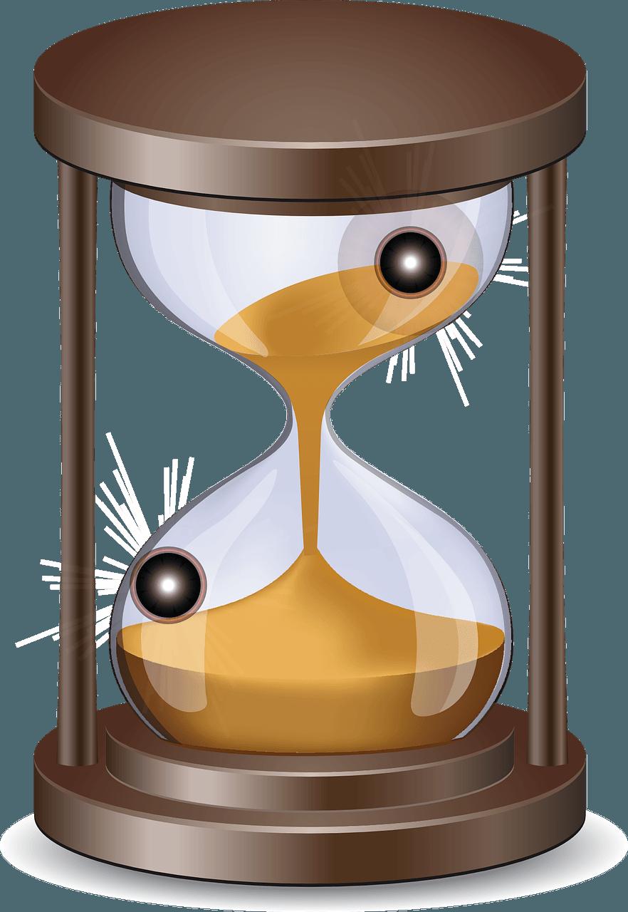 hourglass clipart inevitable
