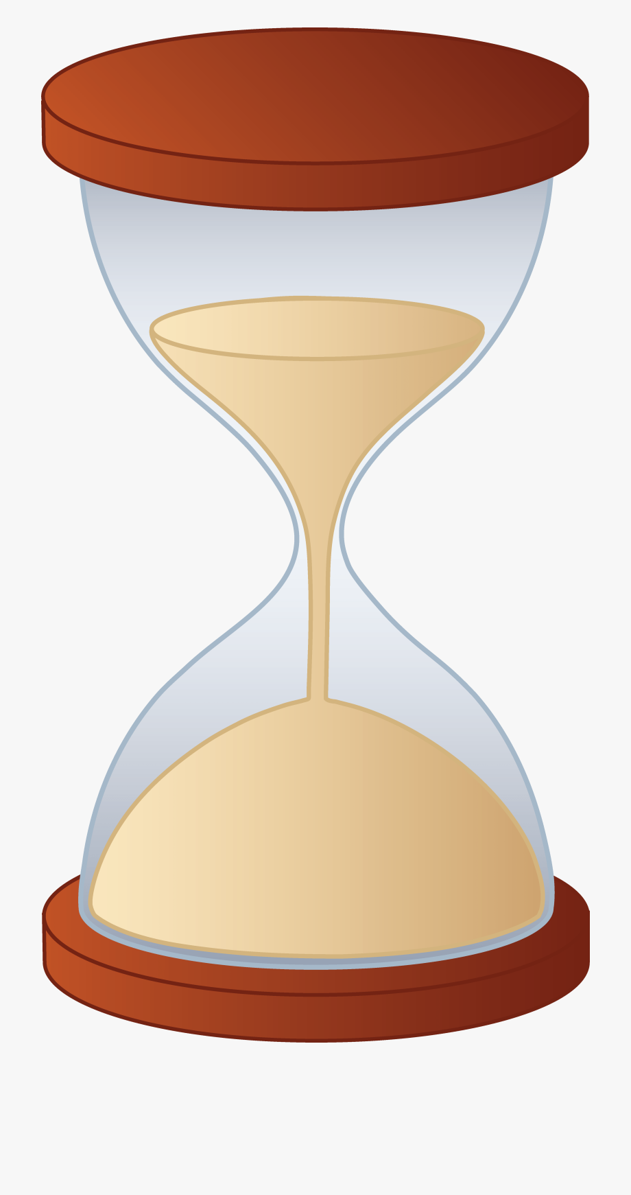Hourglass clipart inevitable. Download transparent cartoon free