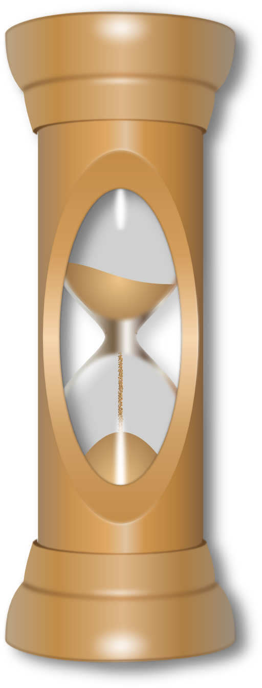 Hourglass clipart outline. I royalty free public