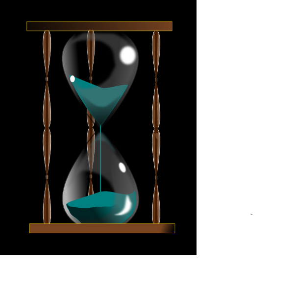 Hourglass clipart outline. Png svg clip art