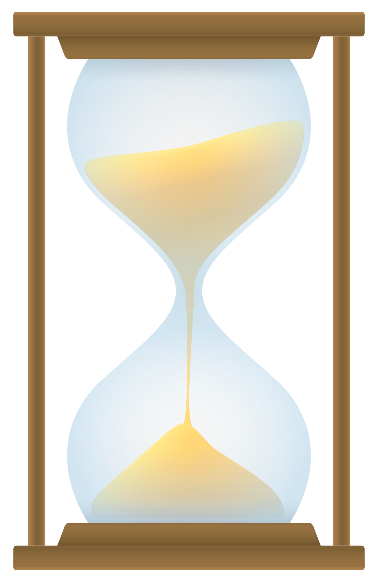 Vector png transparent image. Hourglass clipart sand clock