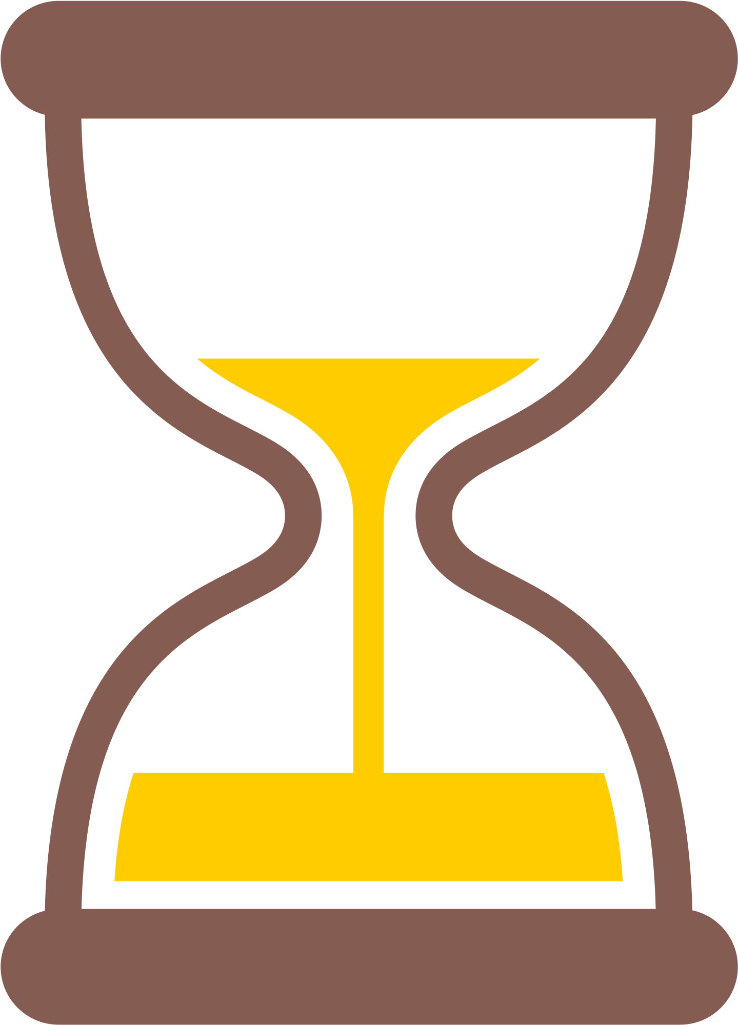 Yellow timer emoji png. Hourglass clipart sand clock