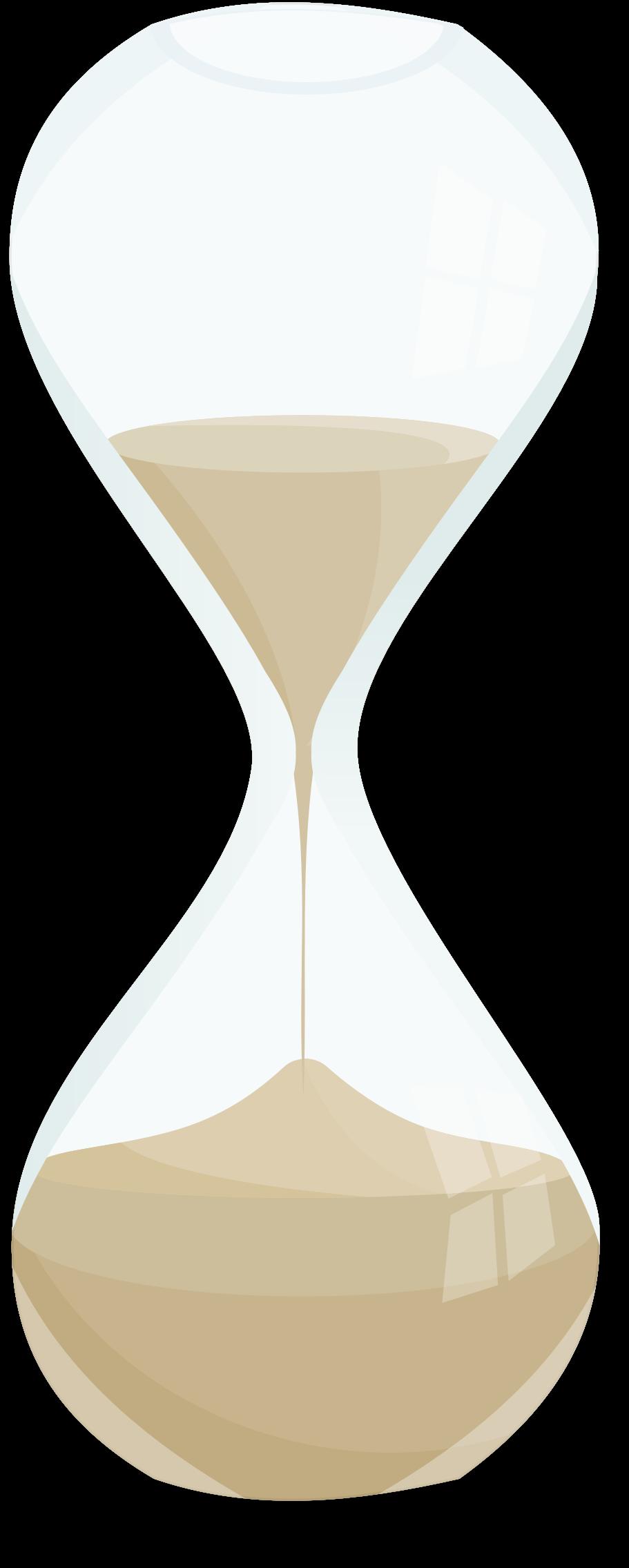 Clock . Hourglass clipart sand timer