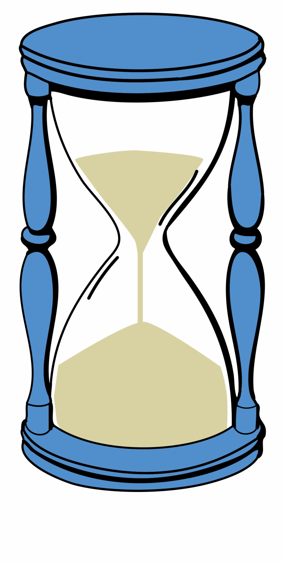 Hourglass clipart sand timer. Time capsule clip art