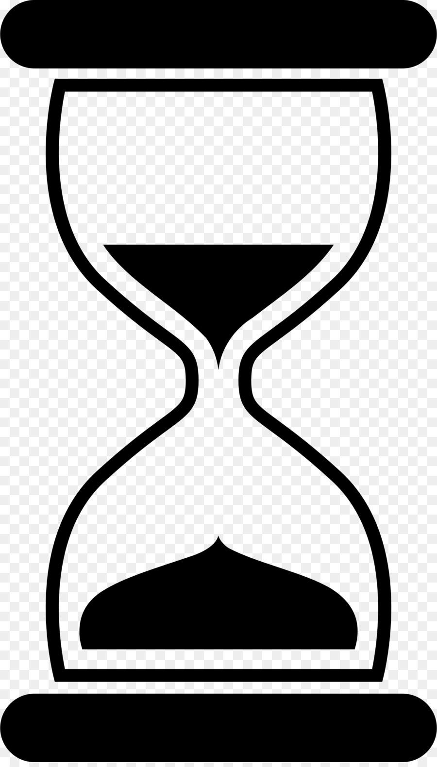 Hourglass clipart sand watch. Cartoon clock transparent clip