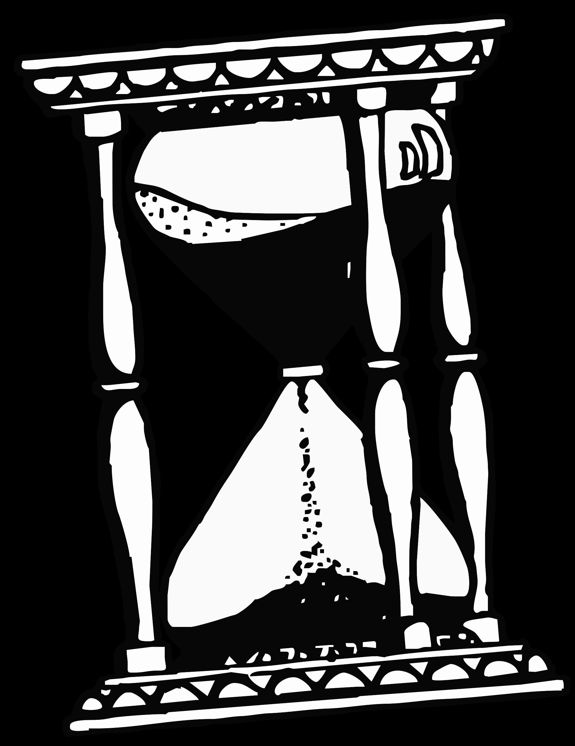 File drawing svg wikimedia. Hourglass clipart sandglass