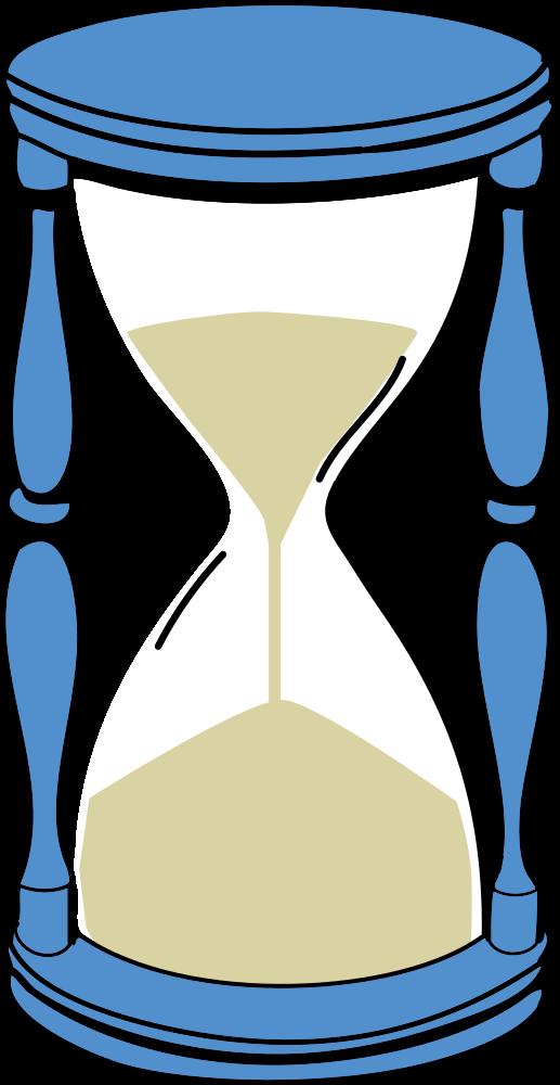 Hourglass clipart sandglass. Onlinelabels clip art with