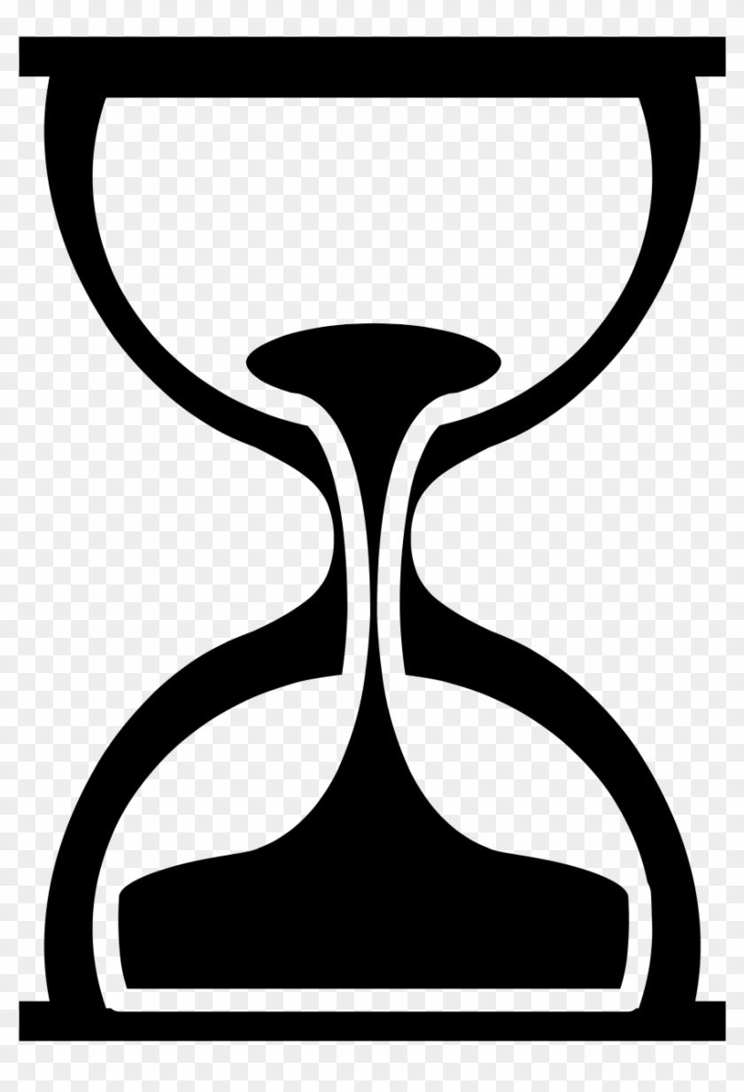Shape hour glass . Hourglass clipart silhouette