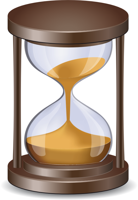 April kollin cooley improv. Hourglass clipart simple