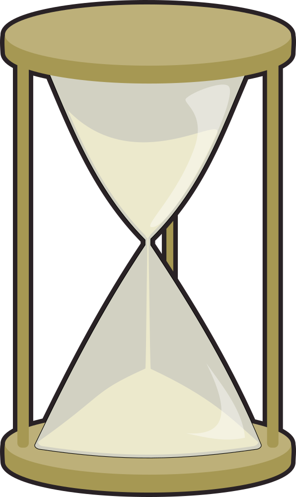 Onlinelabels clip art. Hourglass clipart simple