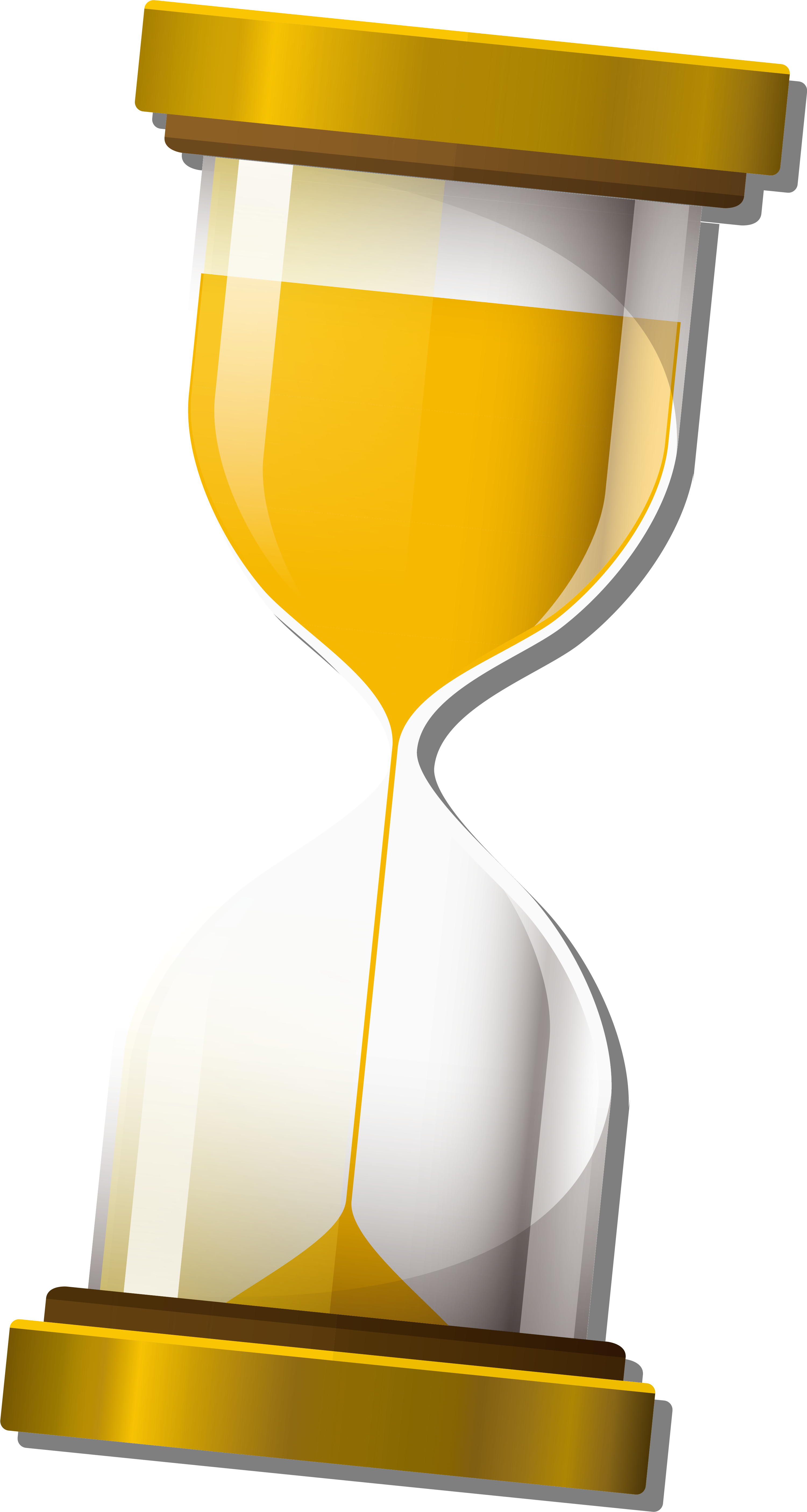 Sand icon yellow transprent. Hourglass clipart simple