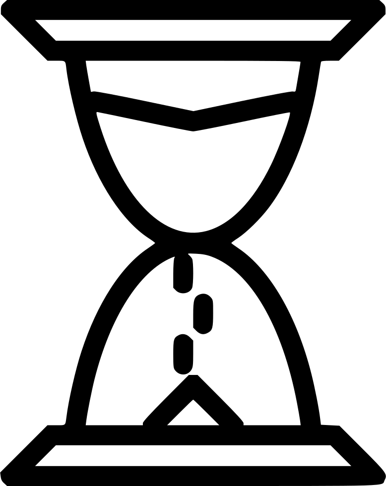 Sand timer drawing at. Hourglass clipart sketch