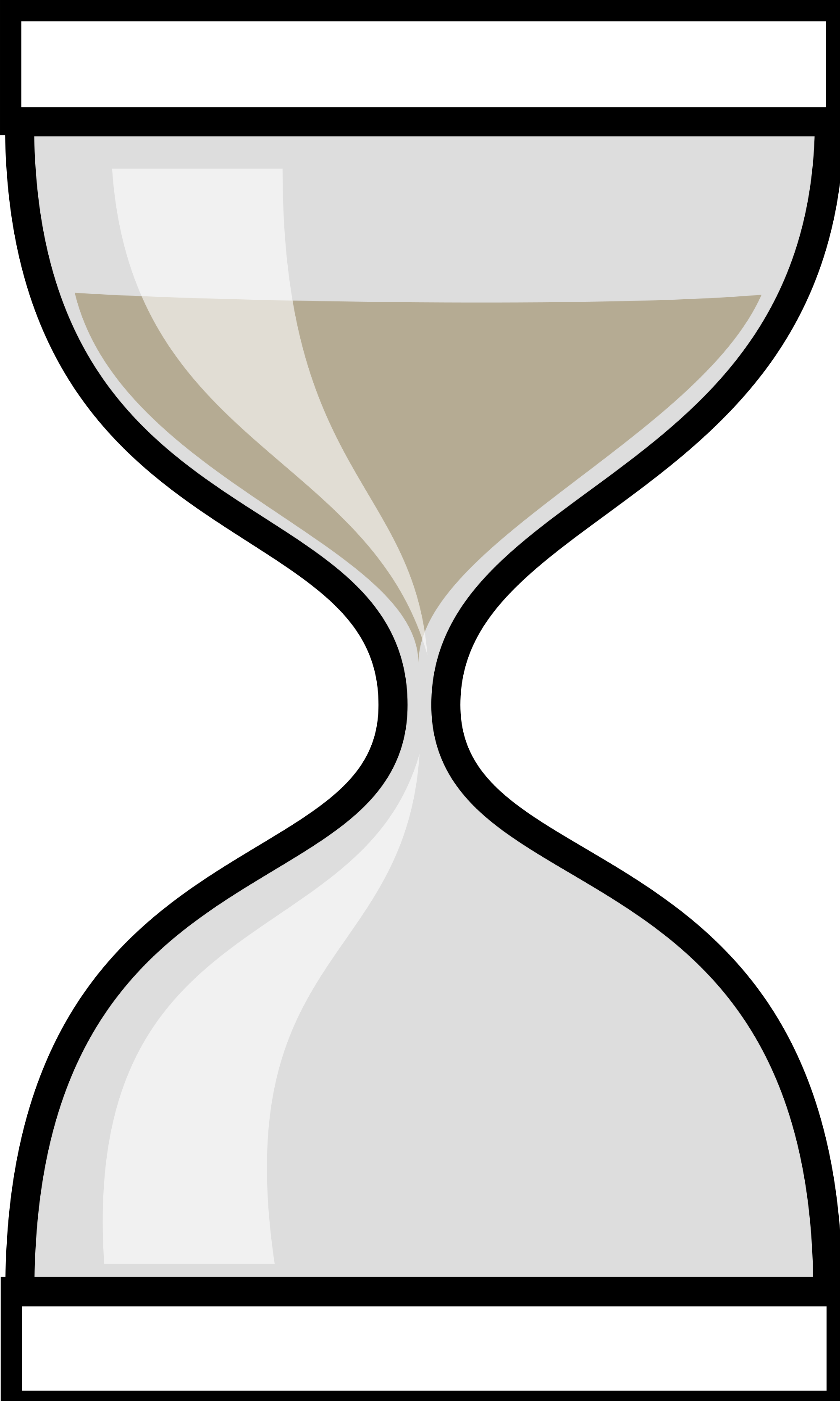 hourglass clipart svg