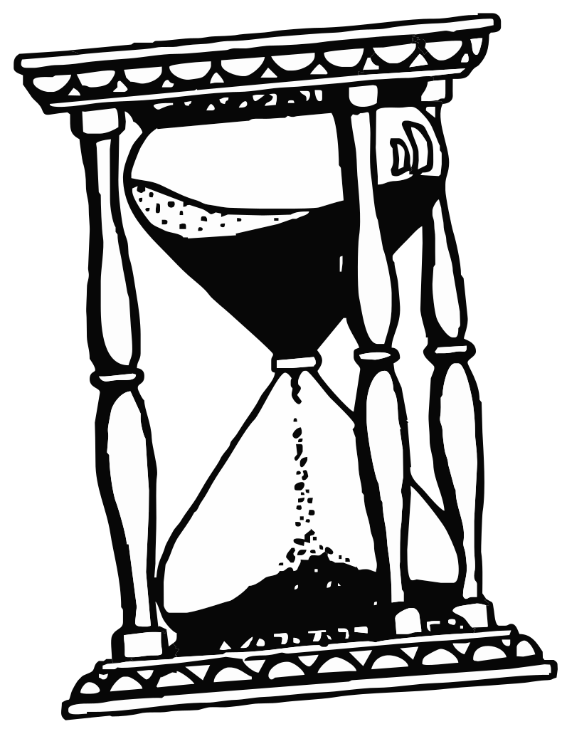Patience clipart hourglass. File drawing svg wikipedia