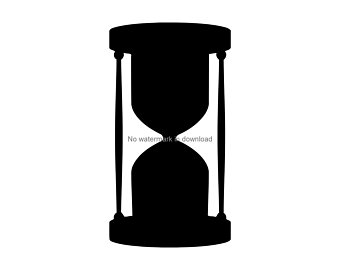 Etsy . Hourglass clipart svg