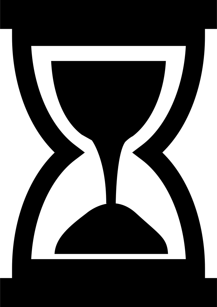 Svg png icon free. Hourglass clipart time piece