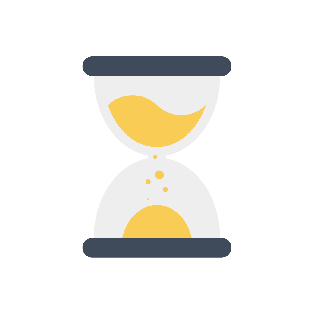 Hourglass clipart timely. Linkage web development our