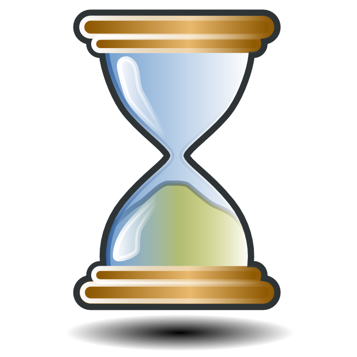 Luxsell related. Hourglass clipart yellow