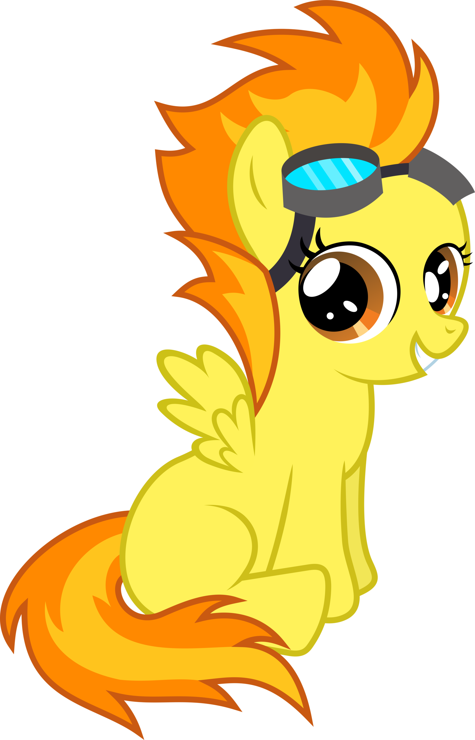 Hourglass clipart yellow. Image my little pony