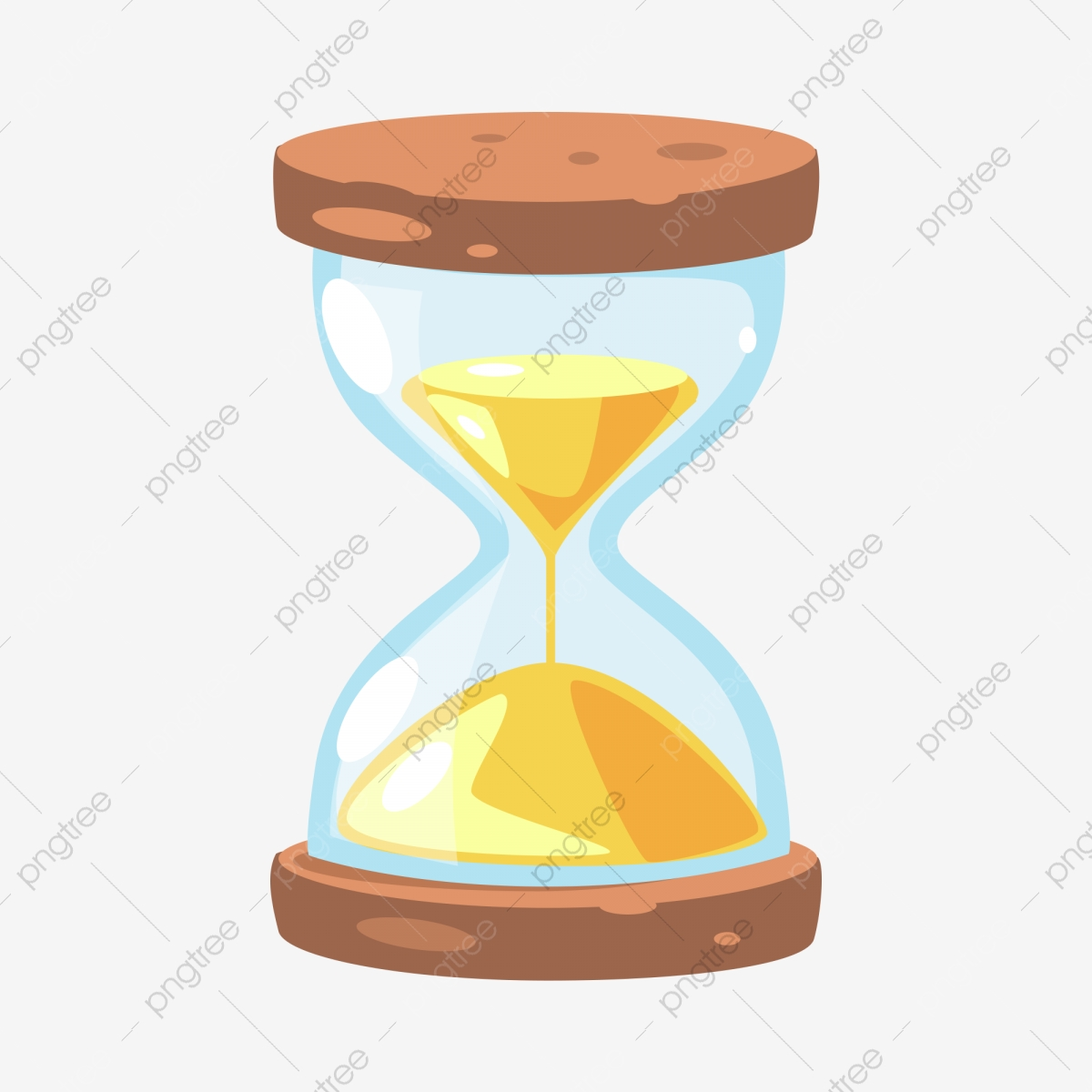 Hourglass clipart yellow. Hour countdown time