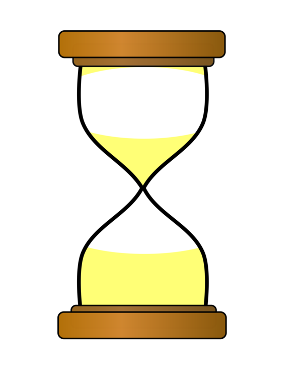 Hourglass clipart yellow. Line png royalty free