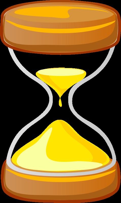 Hourglass clipart yellow. Architetto clessidra medium image