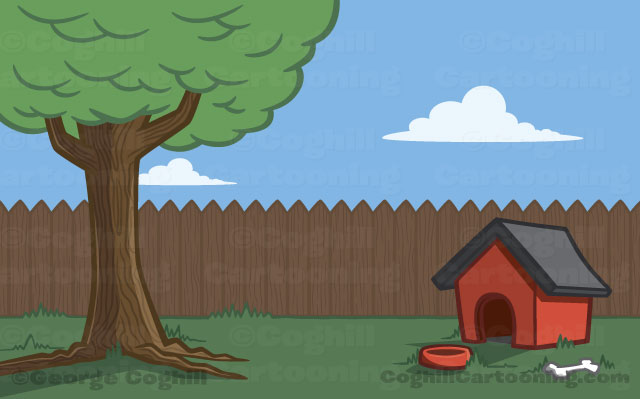 House clipart backyard.  clipartlook
