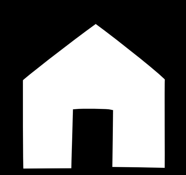 House clipart black and white. Blackwhite photo