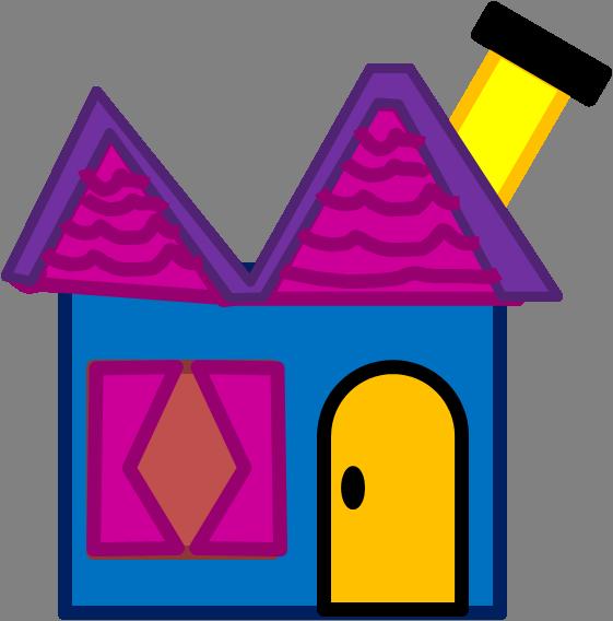 house clipart blue's clue
