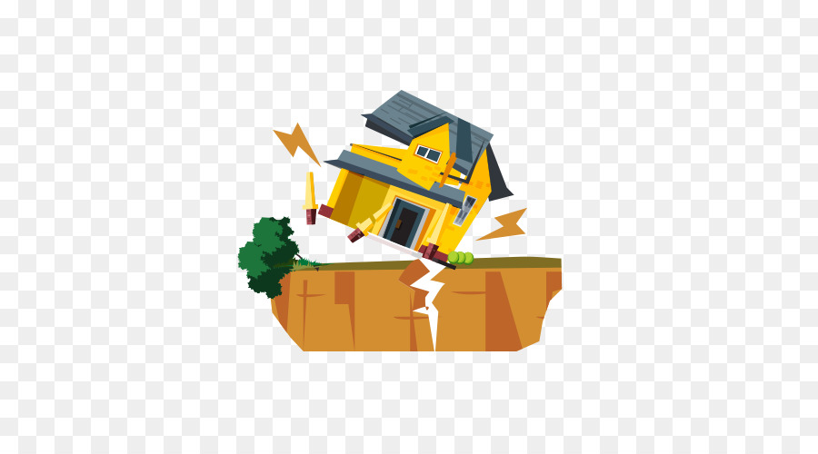 Earthquake drawing png download. Houses clipart collapse