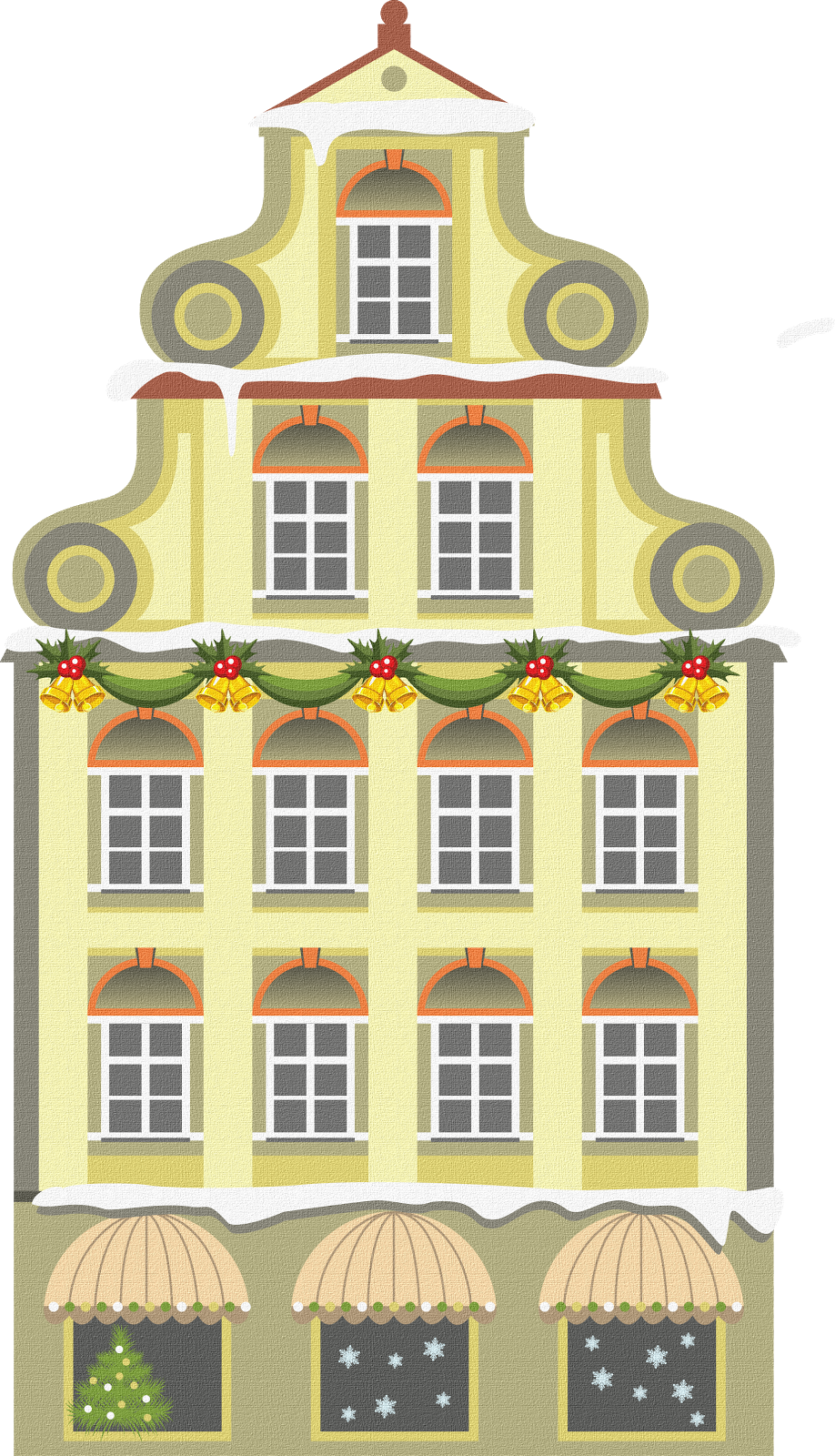 House clipart doodle. Sisters warehouse nifty illustrated