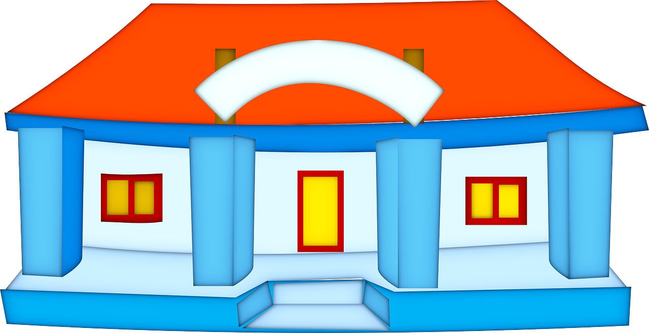 House clipart dream house. Estate real png image
