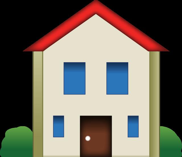 Art copy paste. House clipart emoji