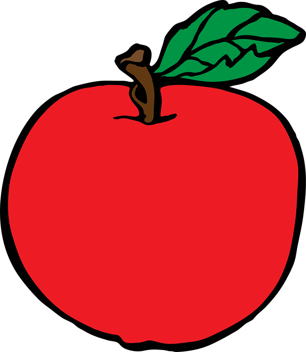 Free shop of library. House clipart fruit