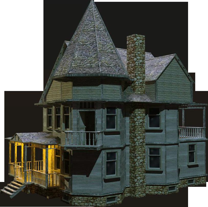 Wooden mart. House png transparent