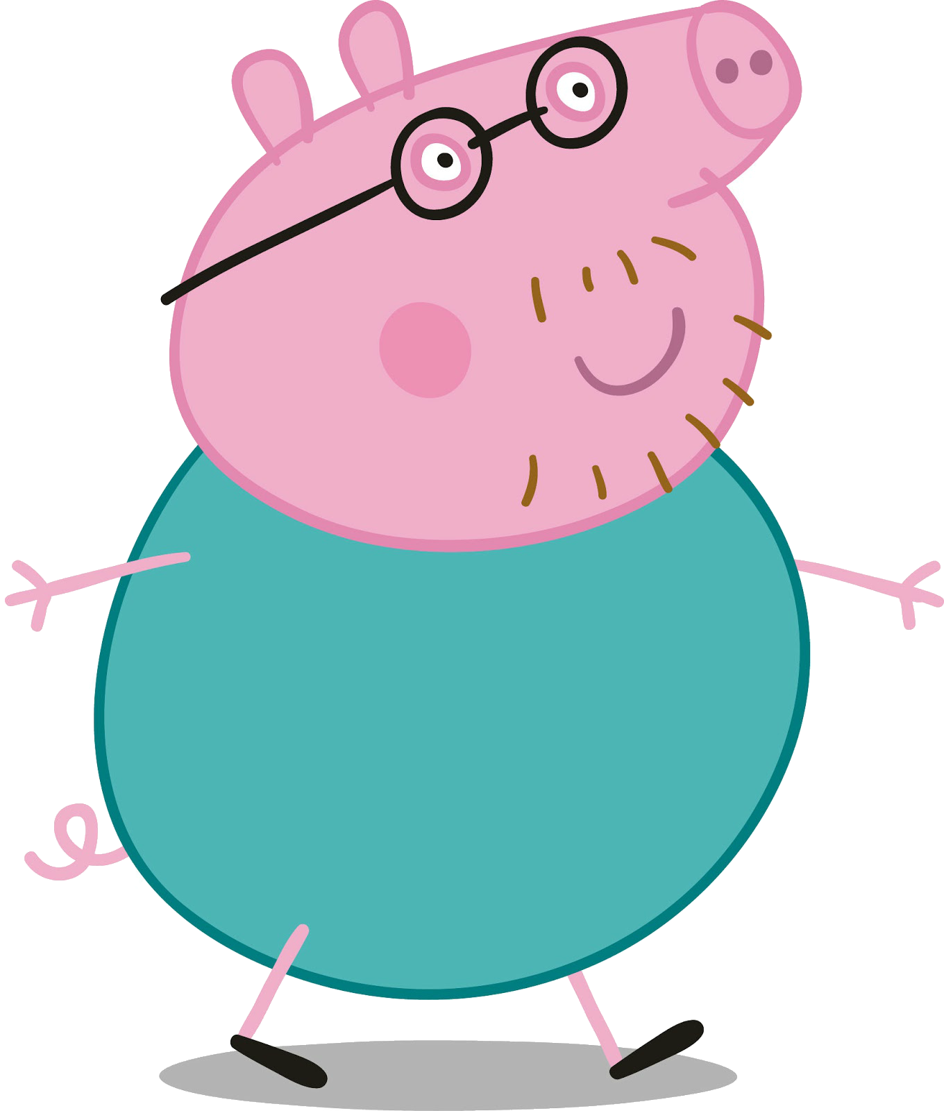 House clipart peppa pig. Cartoon characters png pack