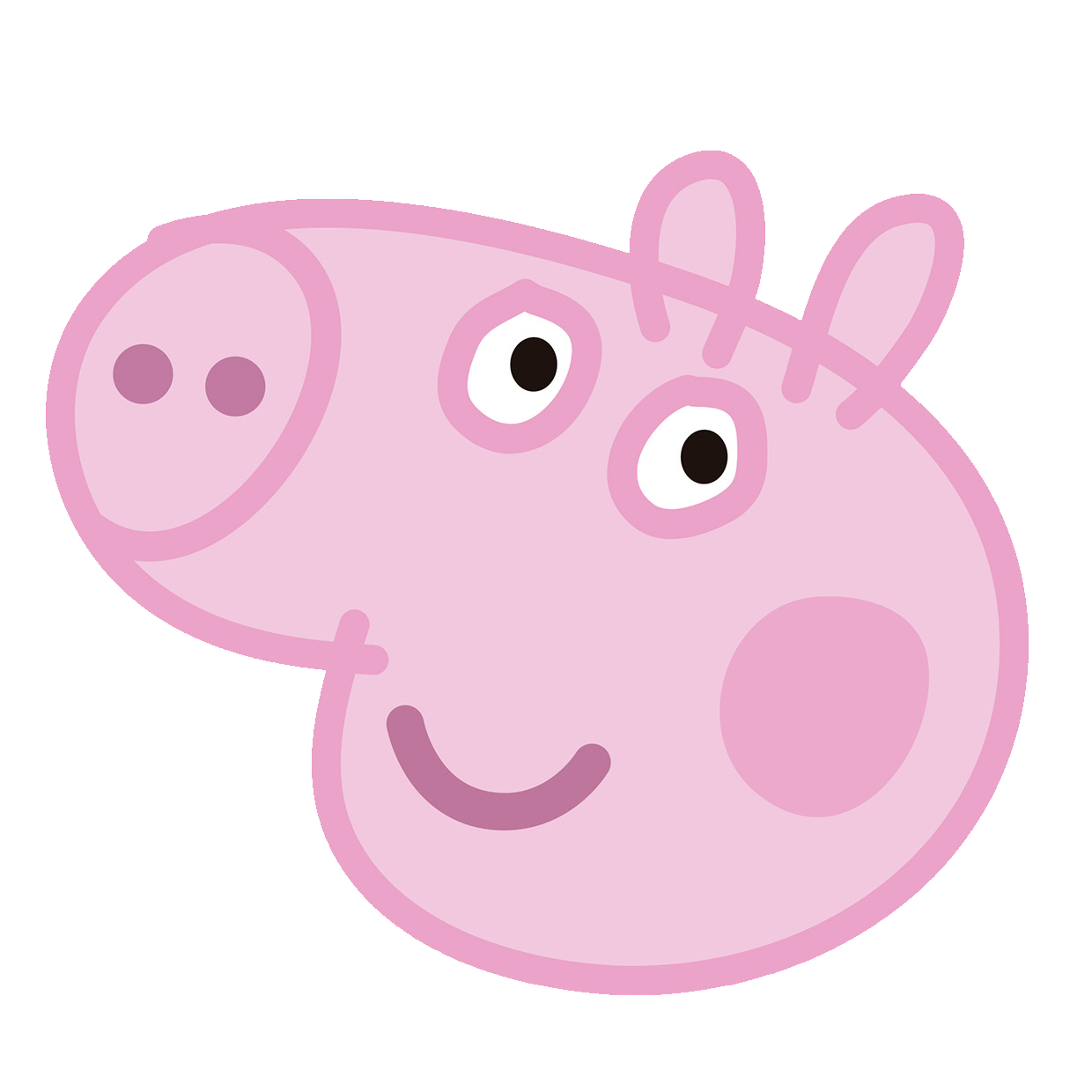 George parties pinterest and. House clipart peppa pig