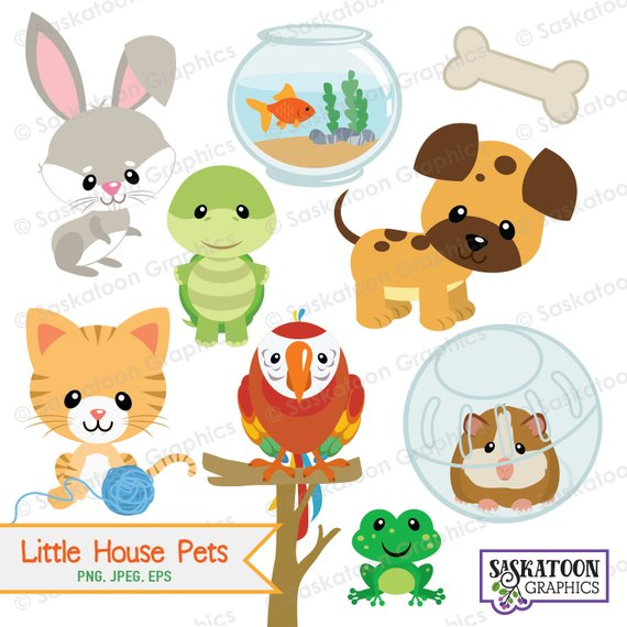 Little pets animal instant. Pet clipart house