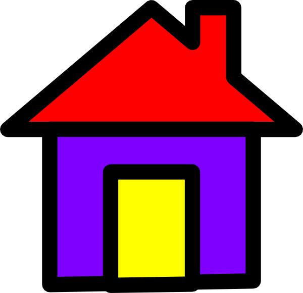 Number 1 clipart fun. House clip art at