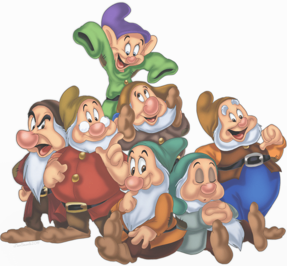 Snow White And The Seven Dwarfs Png & Free Snow White And The Seven Dwarfs.png  Transparent Images #63564 - PNGio