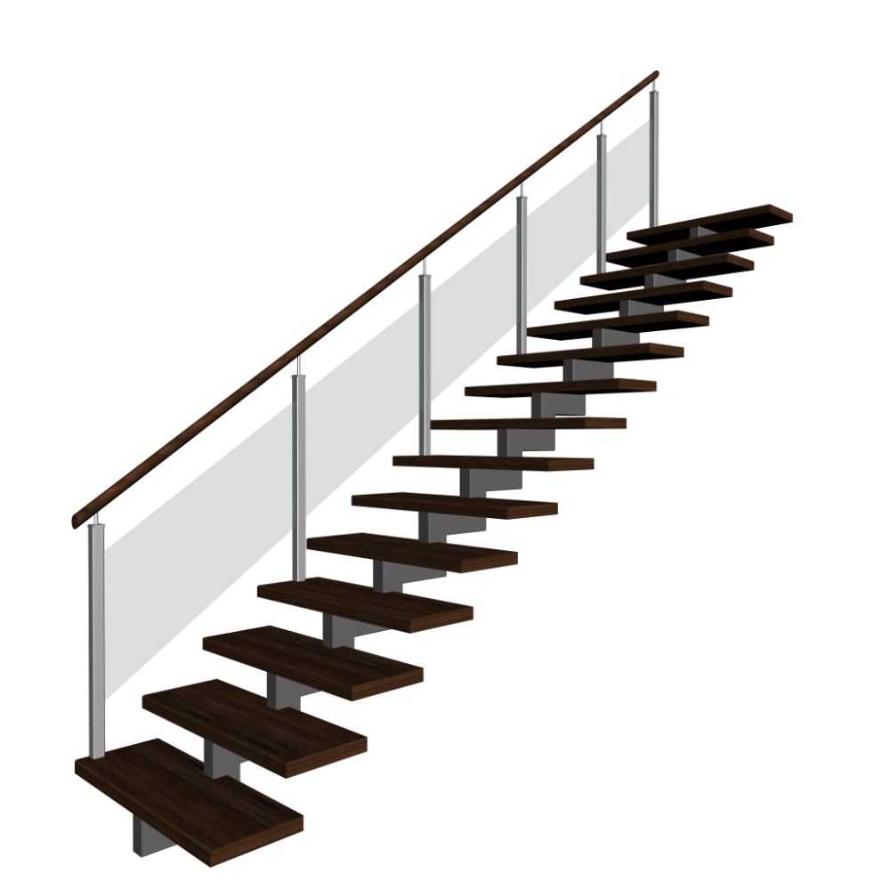 best stairs transparent. Staircase clipart stair rail
