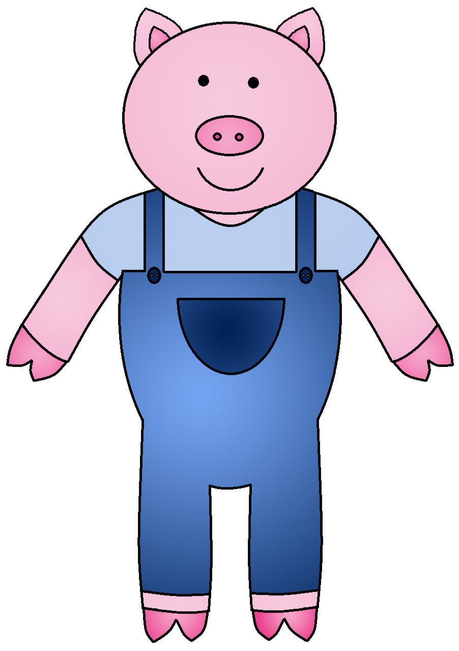 houses clipart three little pig