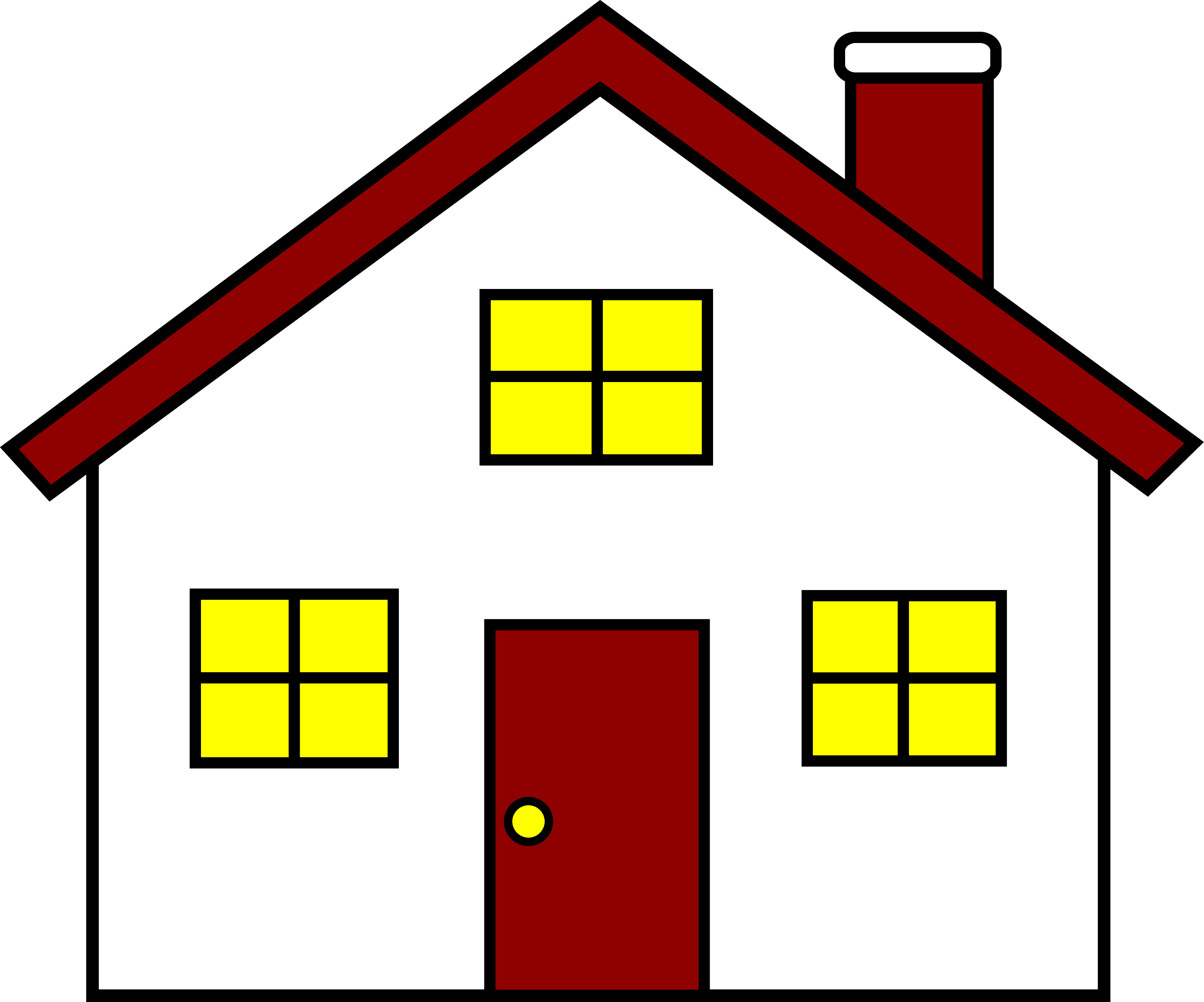 House clipart. Clip art free cartoon