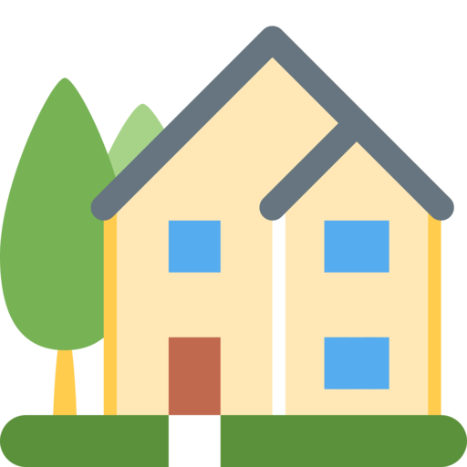 House emoji png.  twitter twemoji