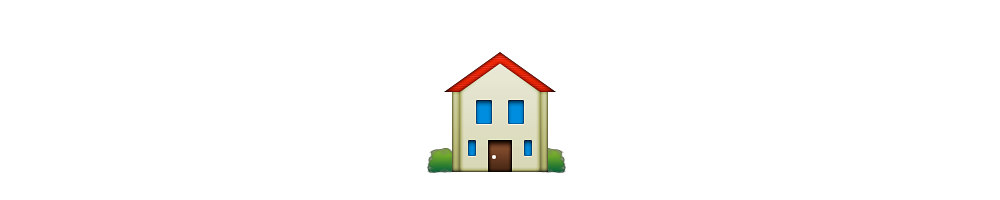 Meanings stories. House emoji png