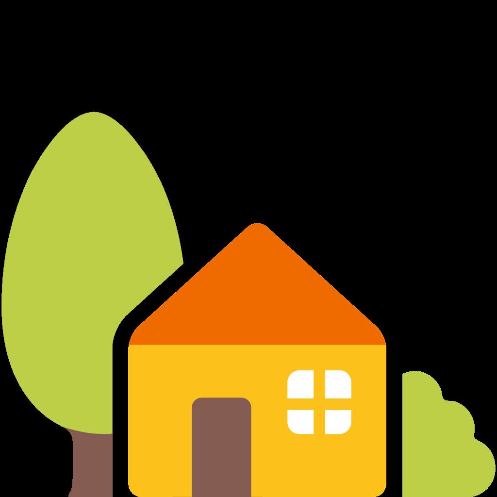 File u f e. House emoji png