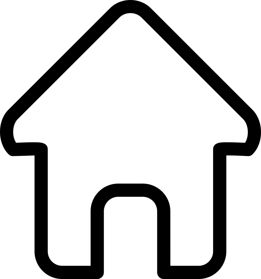 Svg icon free download. House outline png