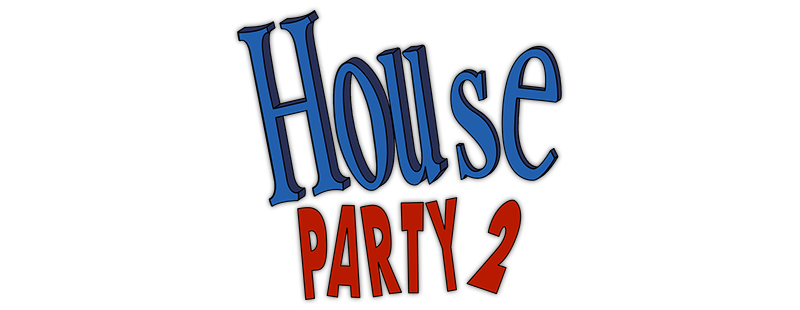 Image black and white. House party png