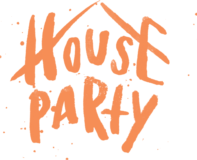 House party png. W o dates elevation